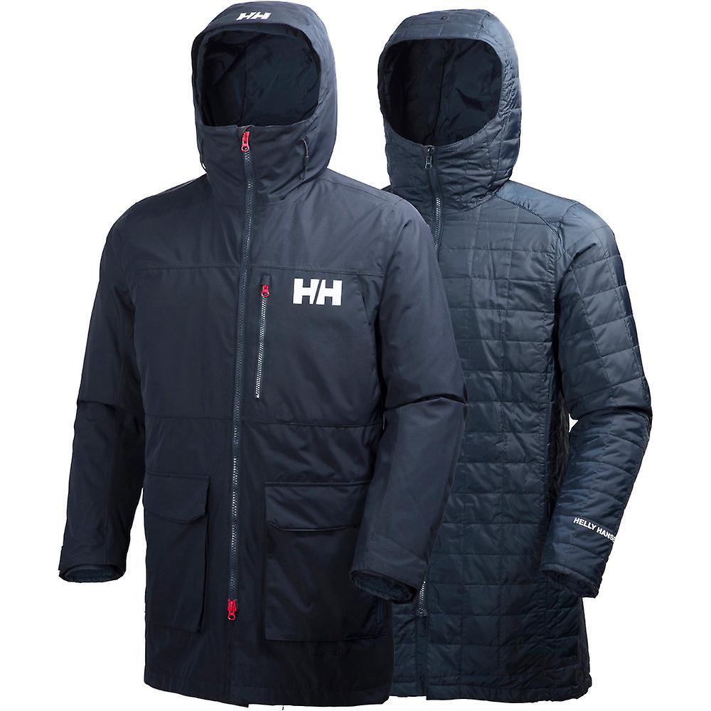 fd6a689e Helly Hansen Mens Rigging vanntett pustende varm Parka jakke | Fruugo