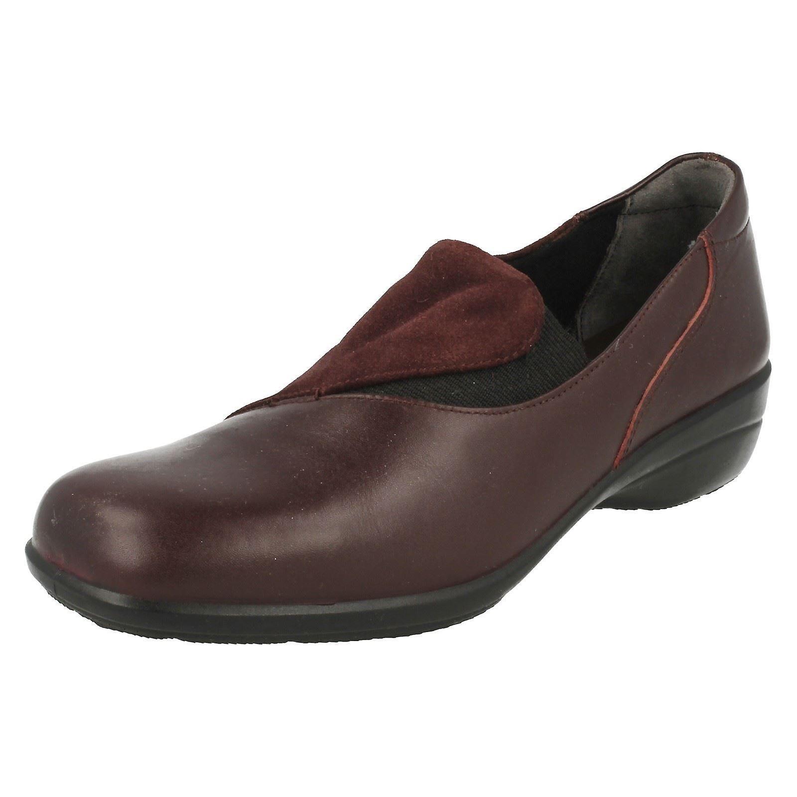 Ladies lett B Slip på sko Swing