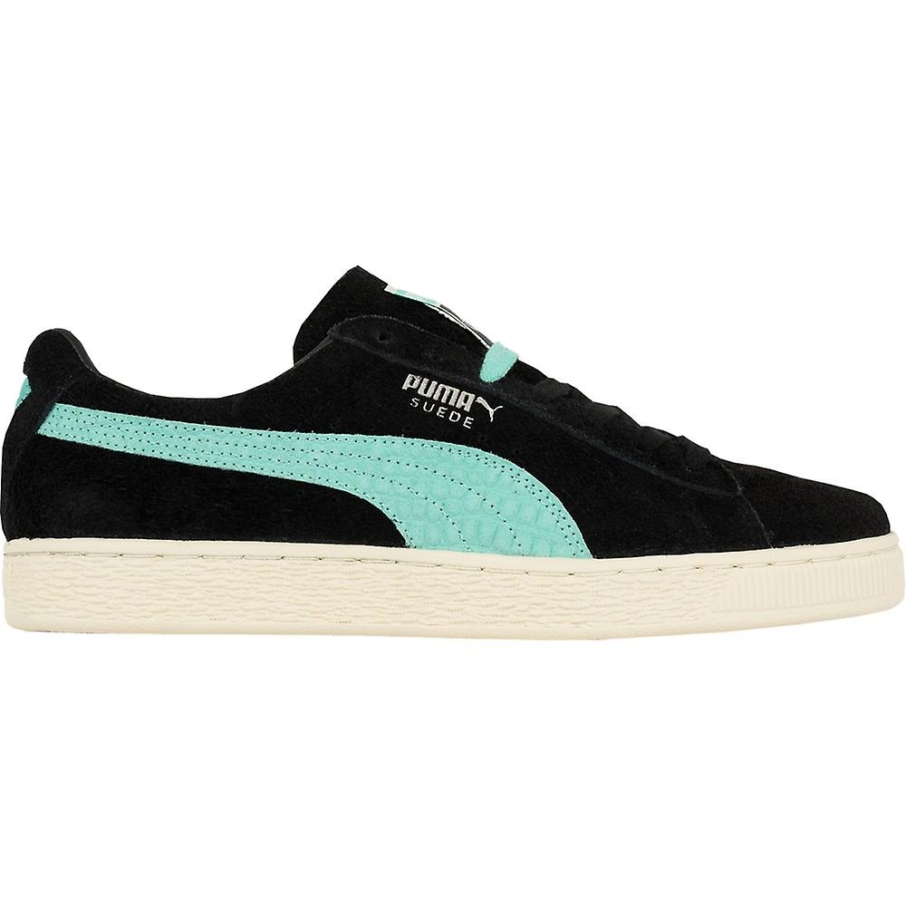 Puma X Diamond Supply Co. Mens Low Cut Lace Up Suede Trainers