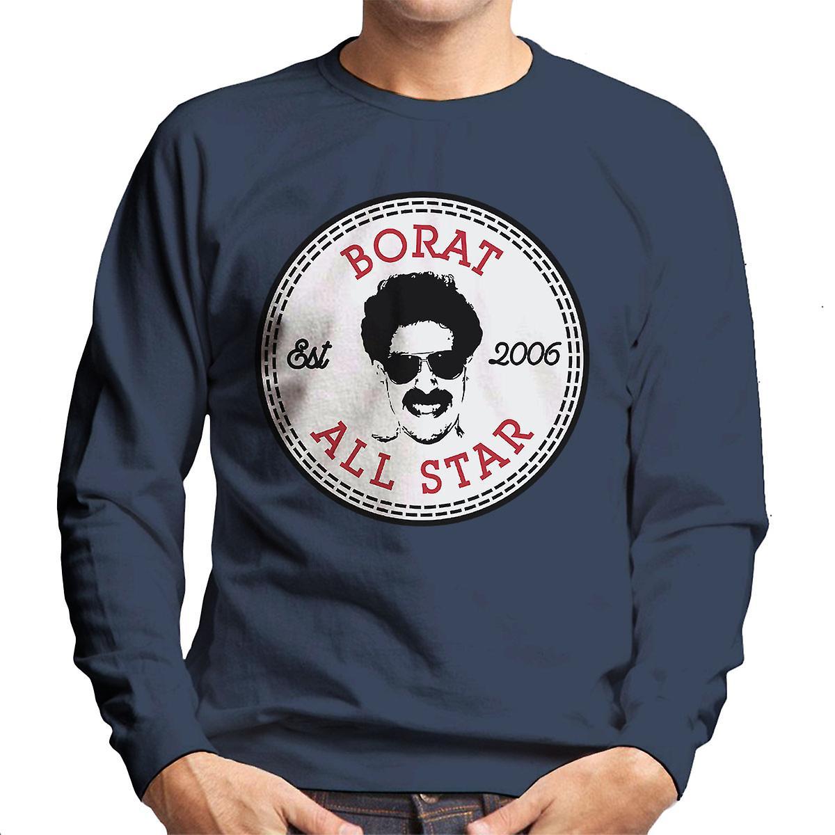 converse borat all star herren sweatshirt fruugo. Black Bedroom Furniture Sets. Home Design Ideas