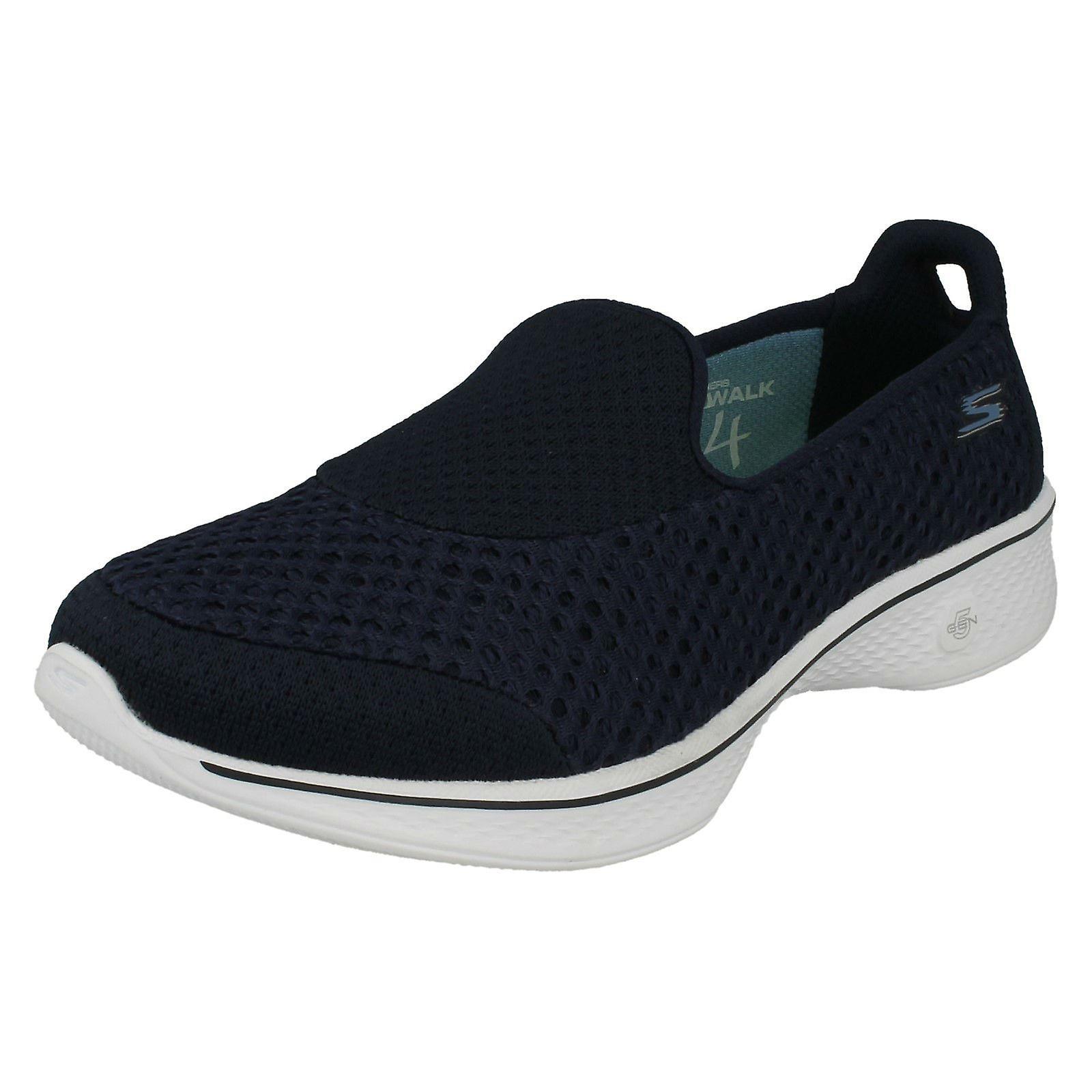 b03c10833221 Ladies Skechers Slip On Pumps Go Walk 4 Kindle 14145