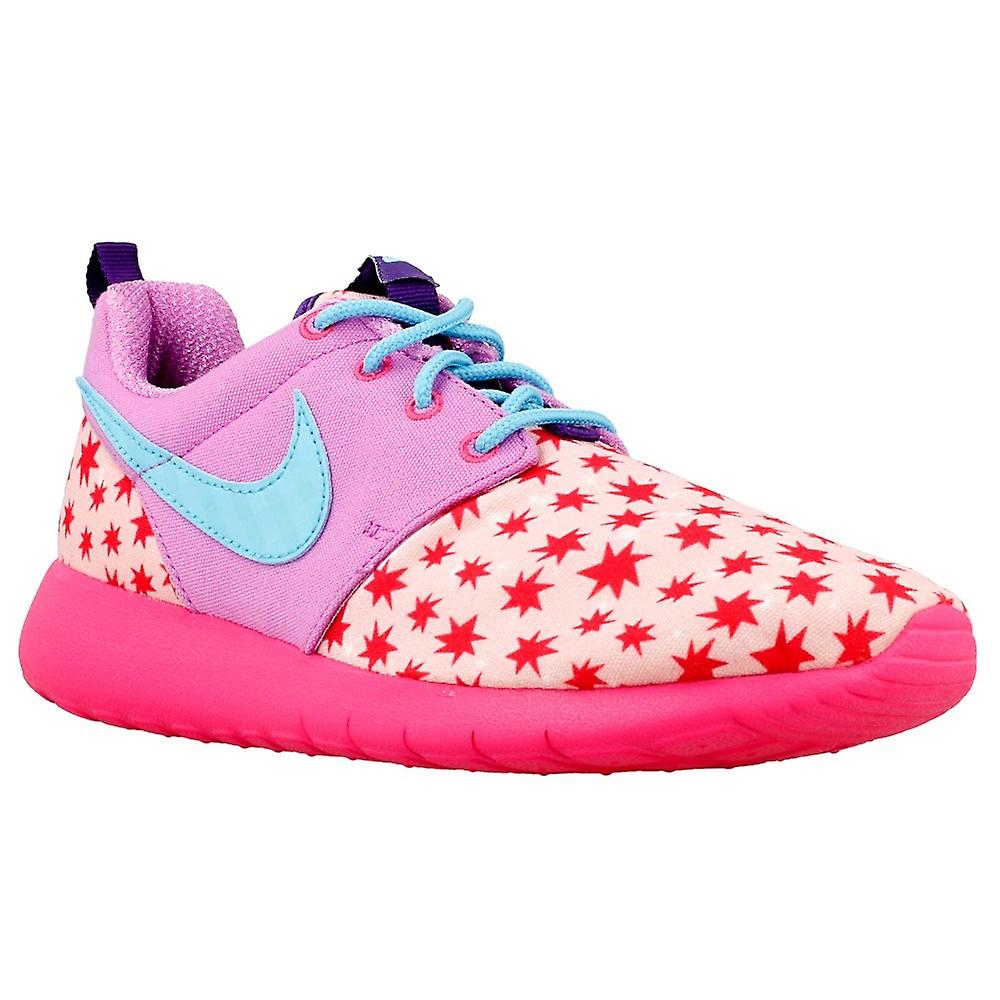 huge discount a3968 6d961 Nike Roshe One Print GS 677784604 universal all year kids shoes