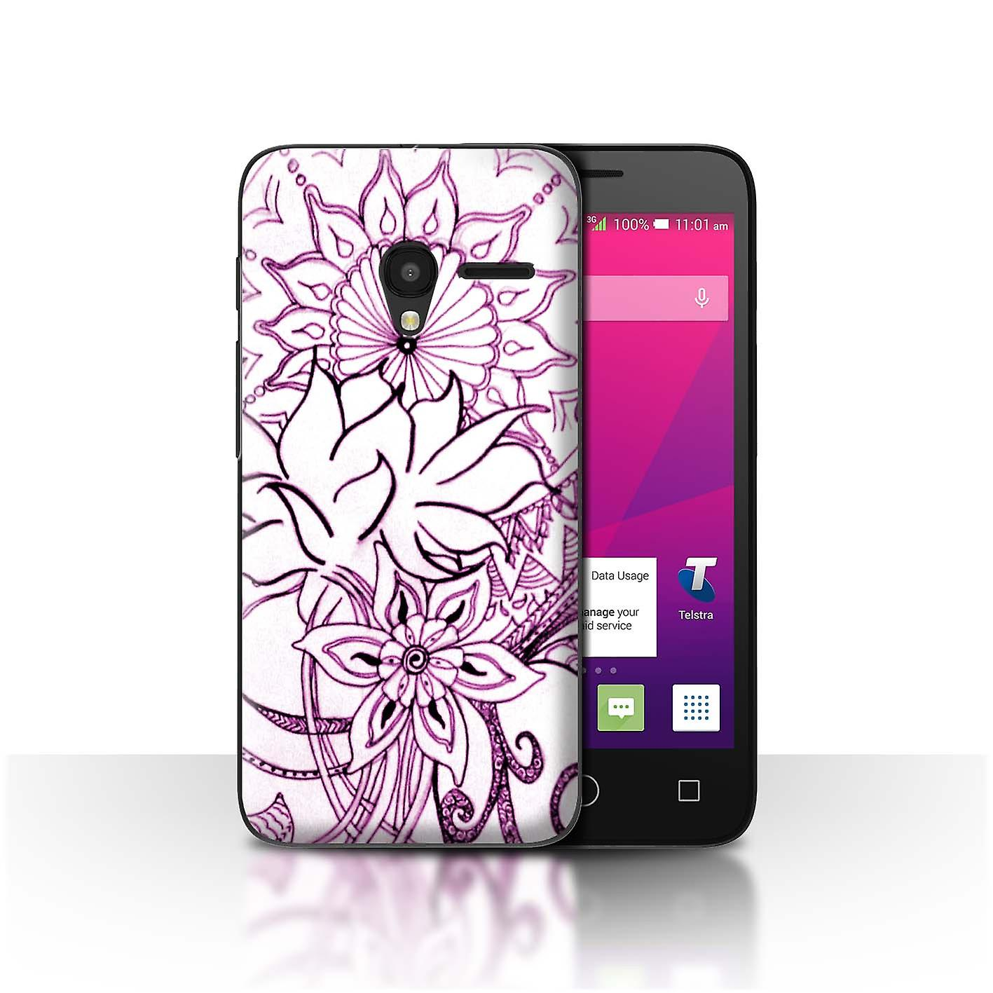 Touch Rugby Paisley: STUFF4 Phone Case/Cover For Alcatel OneTouch Pixi 3 5