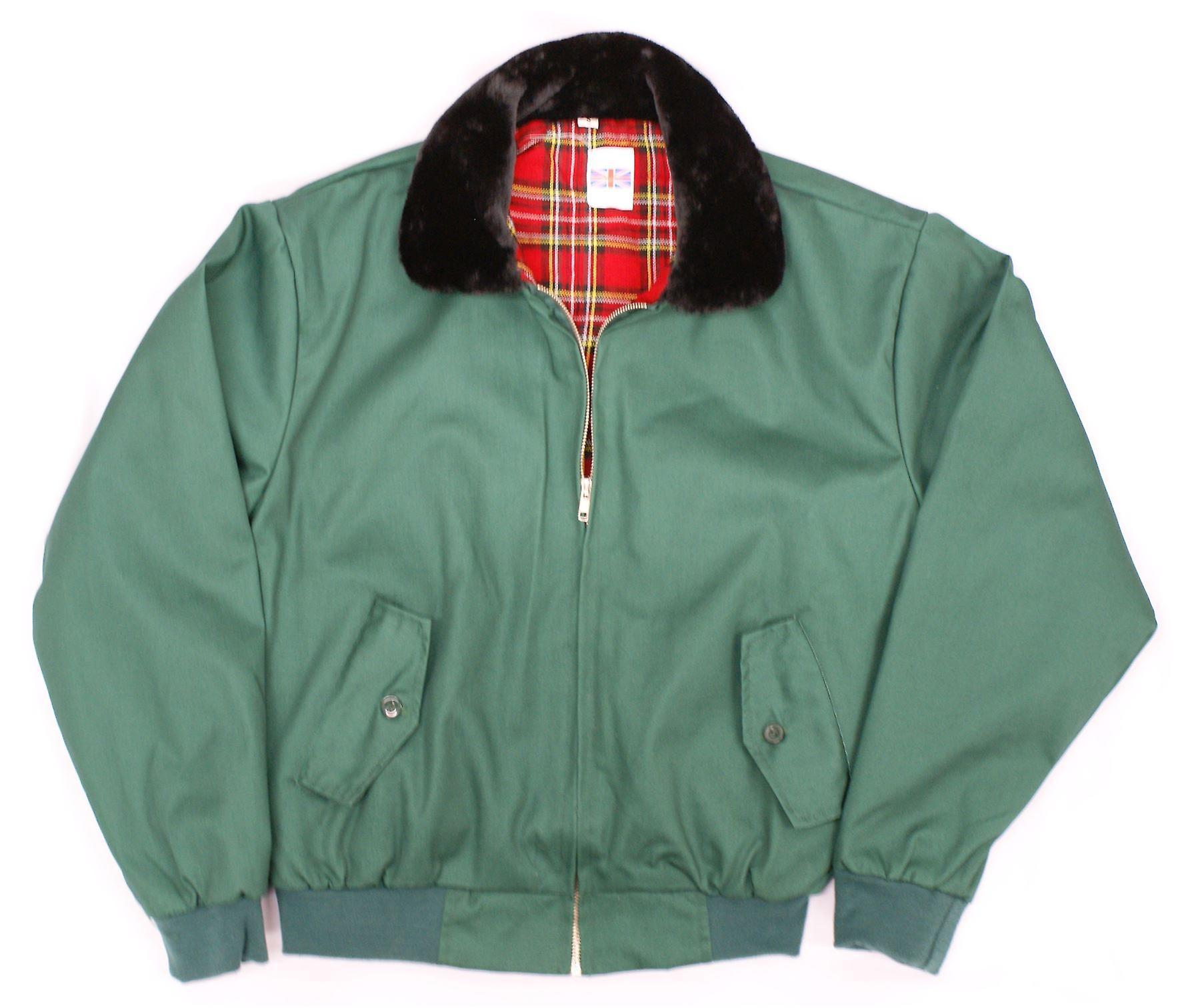 Klassische 70er Jahre Stil Harrington Fell Kragen Jacke
