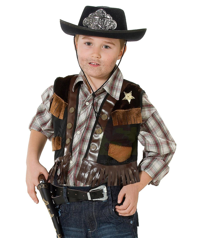 cbf25f451a9c Vice sceriffo cowboy Gilet bambino costume   Fruugo