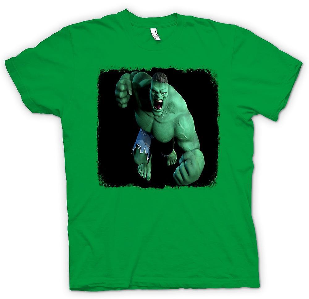 Kids t shirt incredible hulk fist fruugo for Hulk fishing shirts