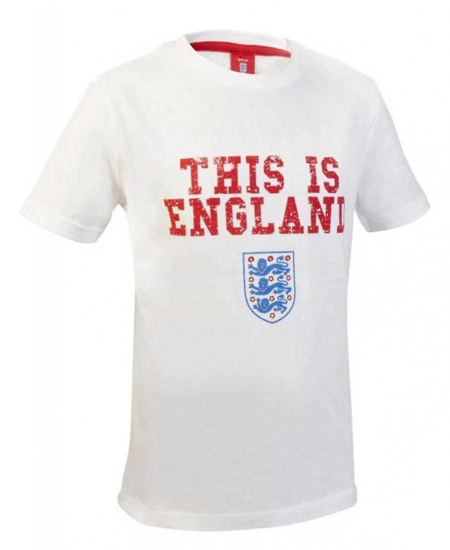 England Fußball Kids This is England T Shirt weiß