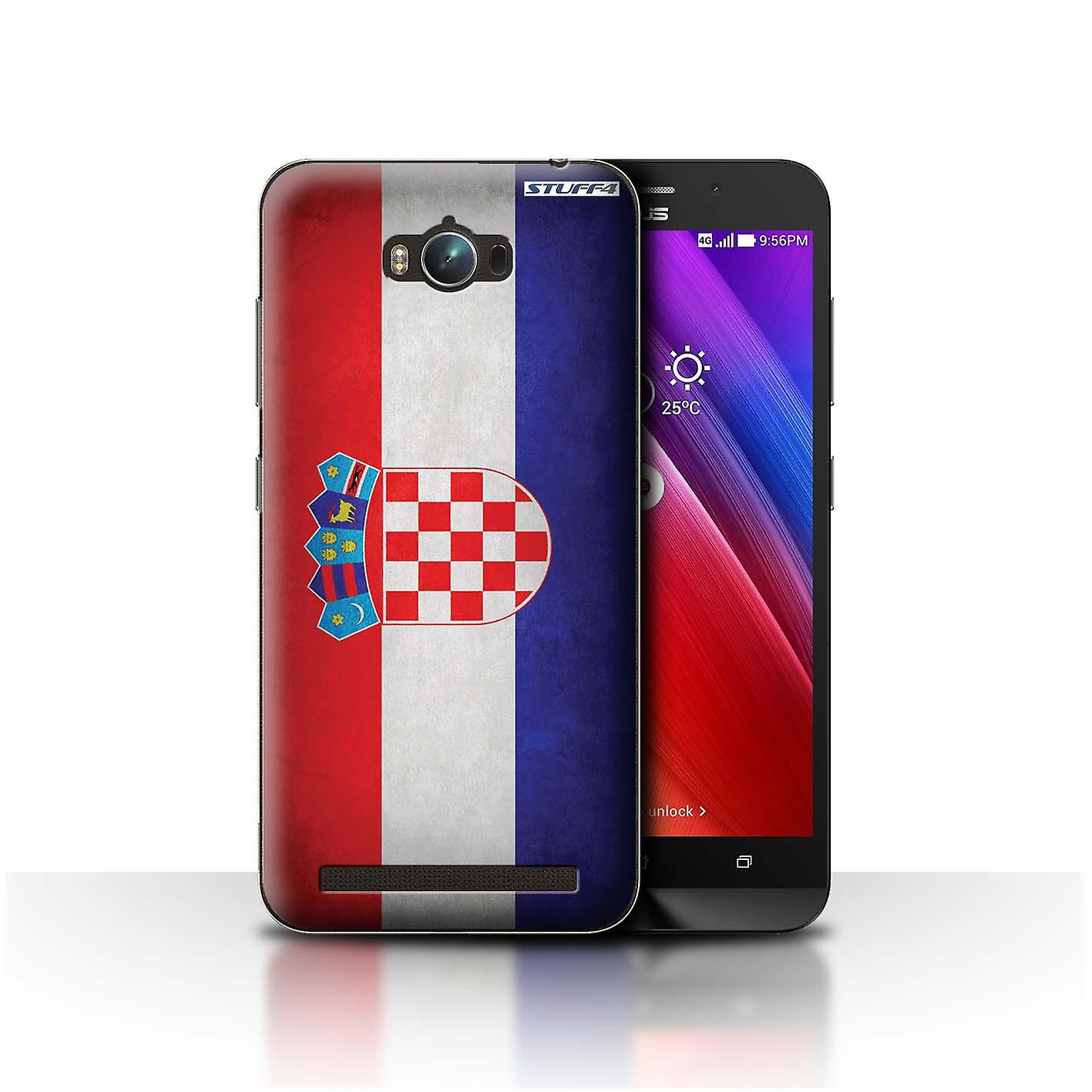 competitive price 33995 ab733 STUFF4 Case/Cover for Asus Zenfone Max ZC550KL/Croatia/Croatian/Flags
