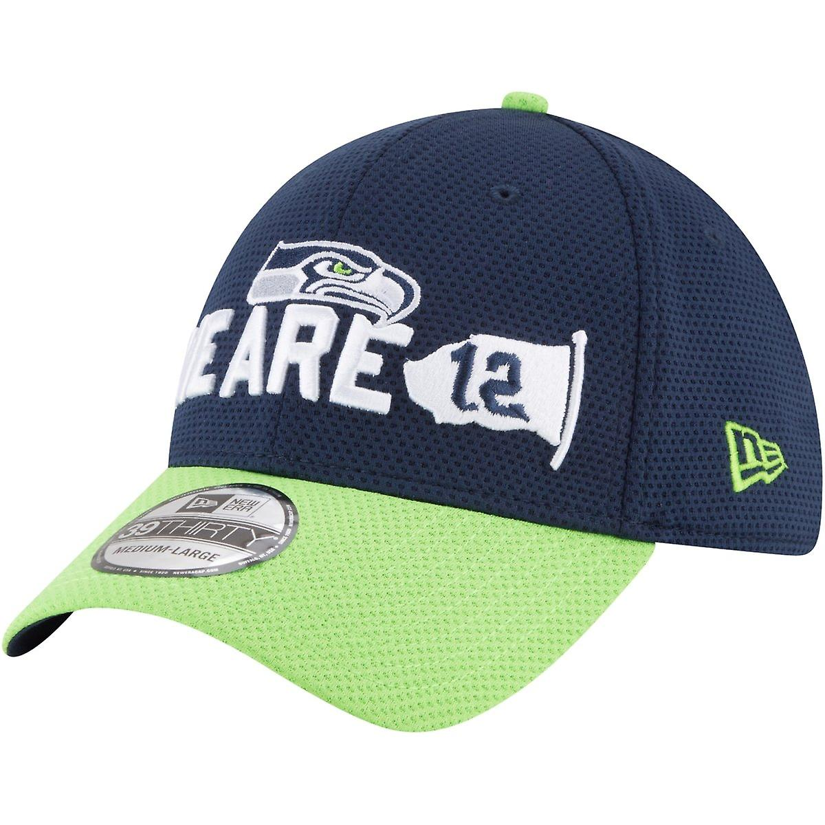 New era 39Thirty Cap - NFL 2018 DRAFT Seattle Seahawks  17588b705