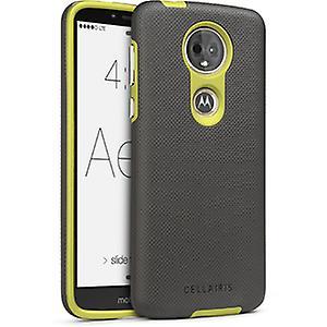 Cellairis Aero Grip Case for Moto G6 Play, Motorola E5 - Gunmetal