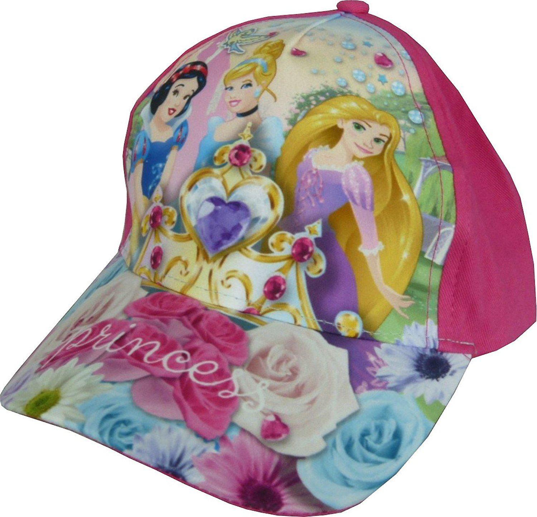 43e0b7248be Girls Disney Princess Baseball Cap with Adjustable Back