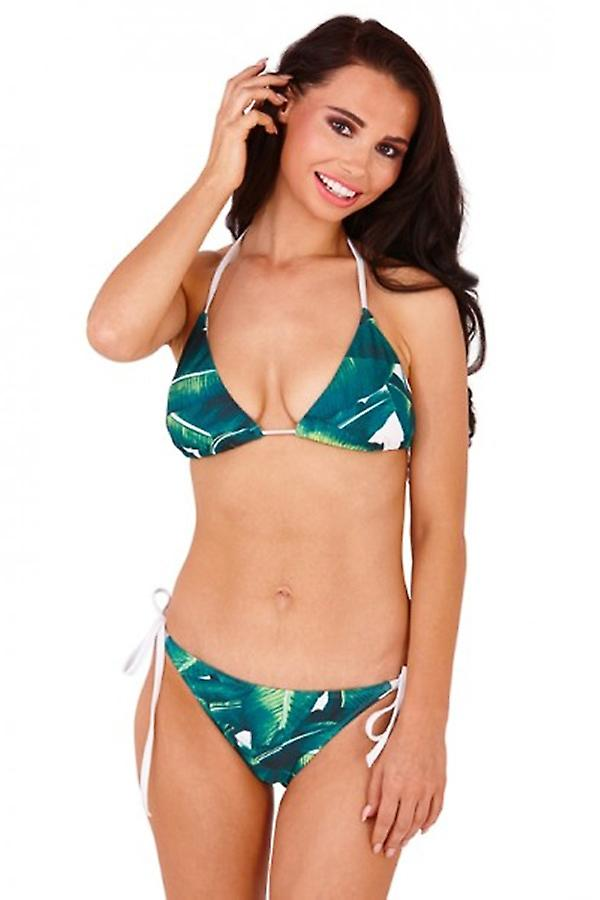 Print triangle bikini what