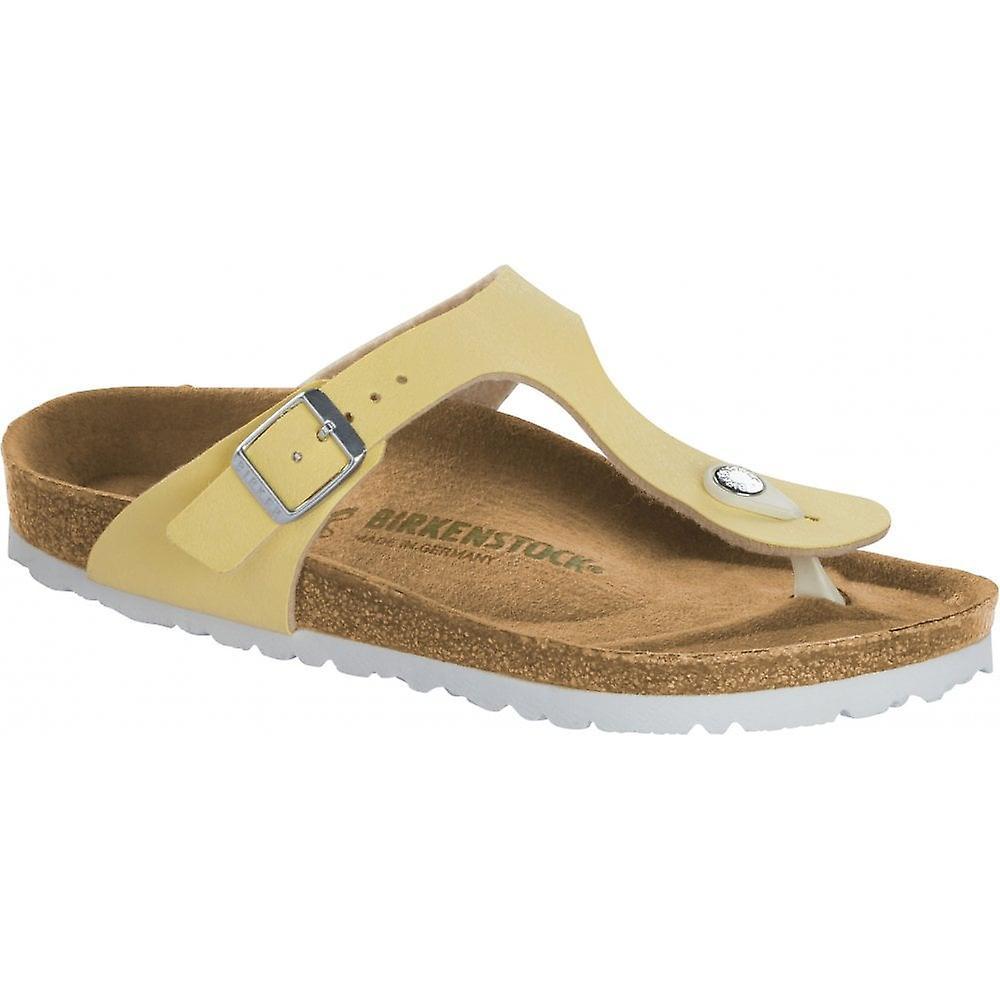 Birkenstock Gizeh BF (VEGAN) Sandal 1016632 Brushed Vanilla REGULAR