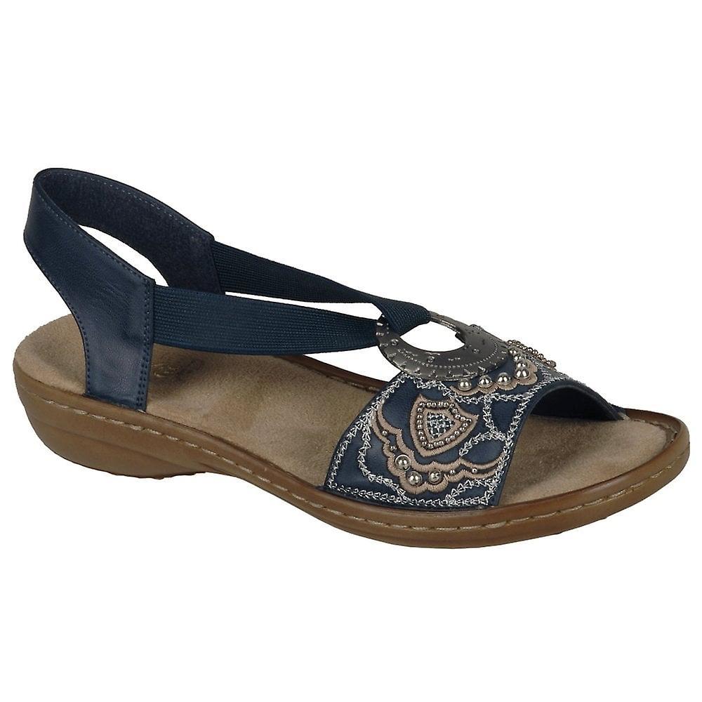 7f2133403fe3 Rieker Jewel Ring Trim Womens Sandals