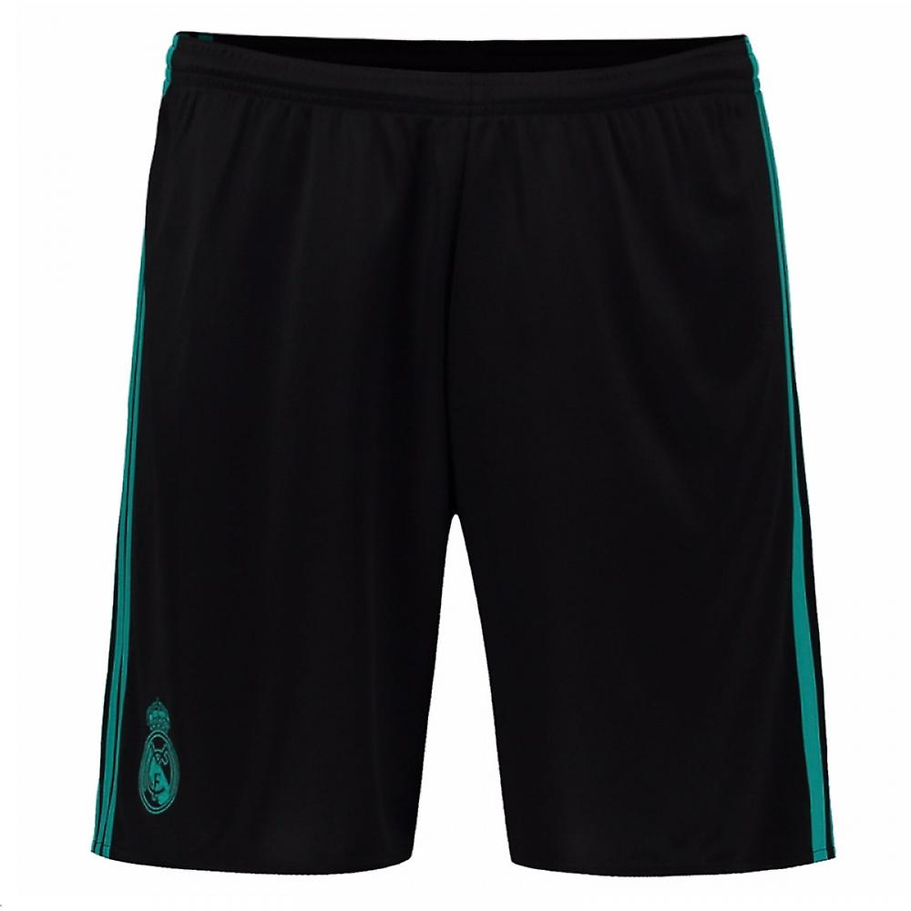 timeless design 8a549 224ca 2017-2018 Real Madrid Adidas Away Shorts (Black)
