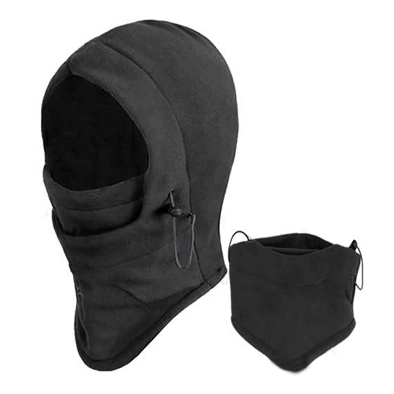 TRIXES termiska Balaclava Fleece Hood Mask huvud   hals varmare  fdfdfc1f3dcb9