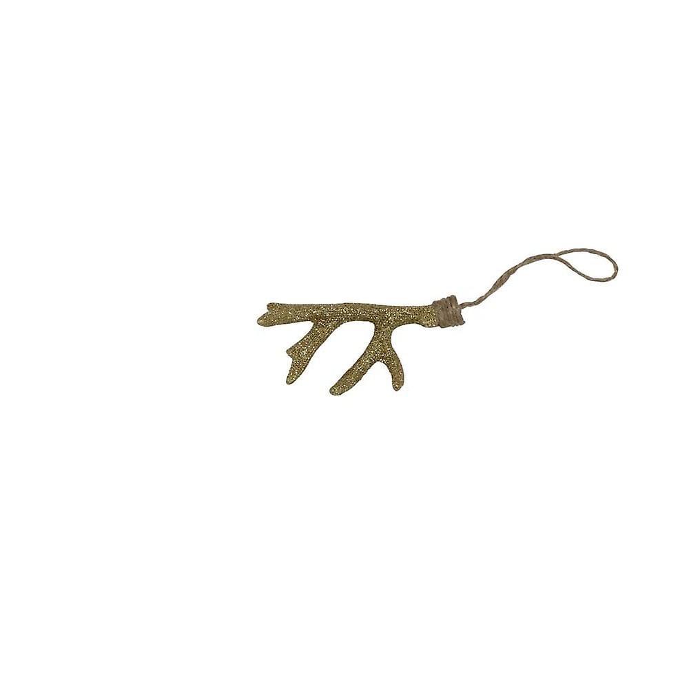 lys & levende dekorative anheng 4.5x9.5x3.5cm gevir gull