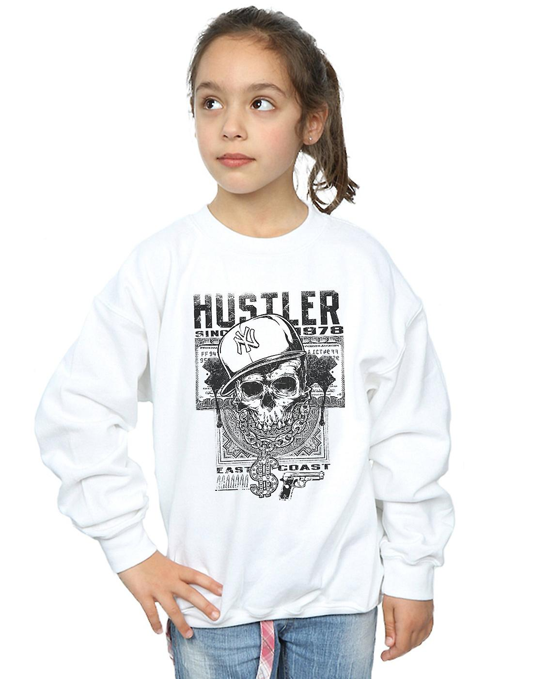 Drewbacca Girls Hustler Skull Sweatshirt