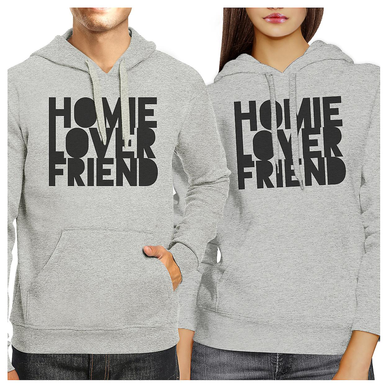 73f44db67d Homie Lover Friend Matching Couple Hoodies Cute Newlyweds Gifts | Fruugo