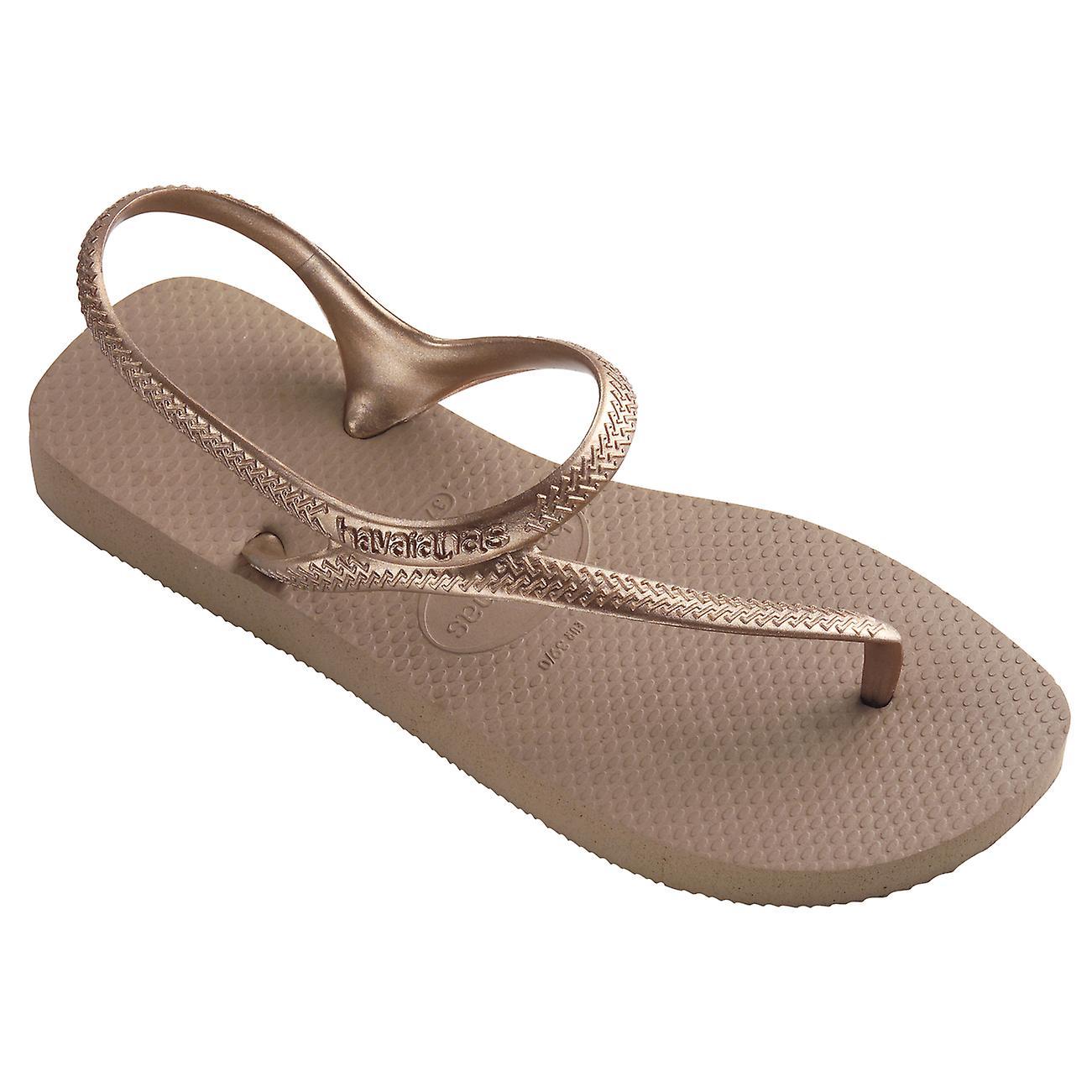 0f0acba35a5885 Womens Havaianas Flash Urban Lightweight Beach Strappy Sandals Flip Flops