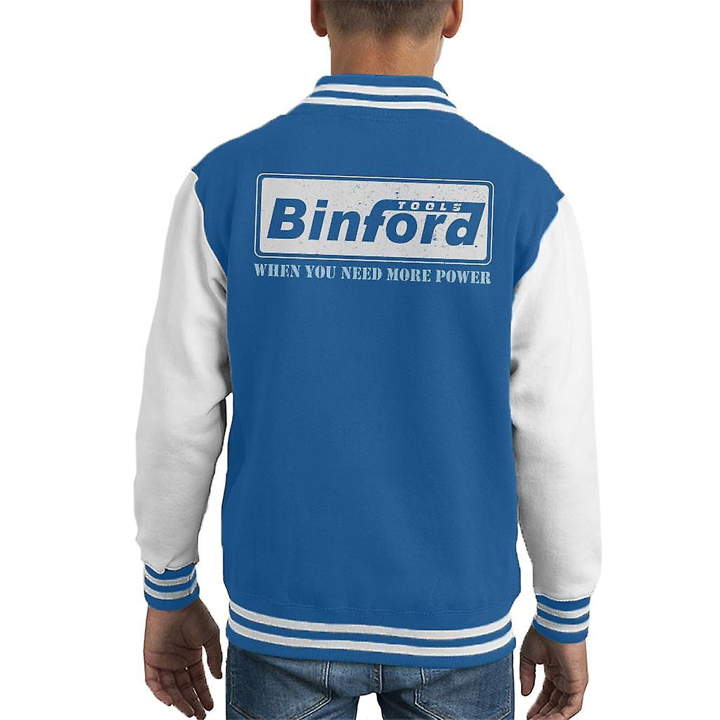 Binford Tools Home Improvement Kids Varsity Jacket