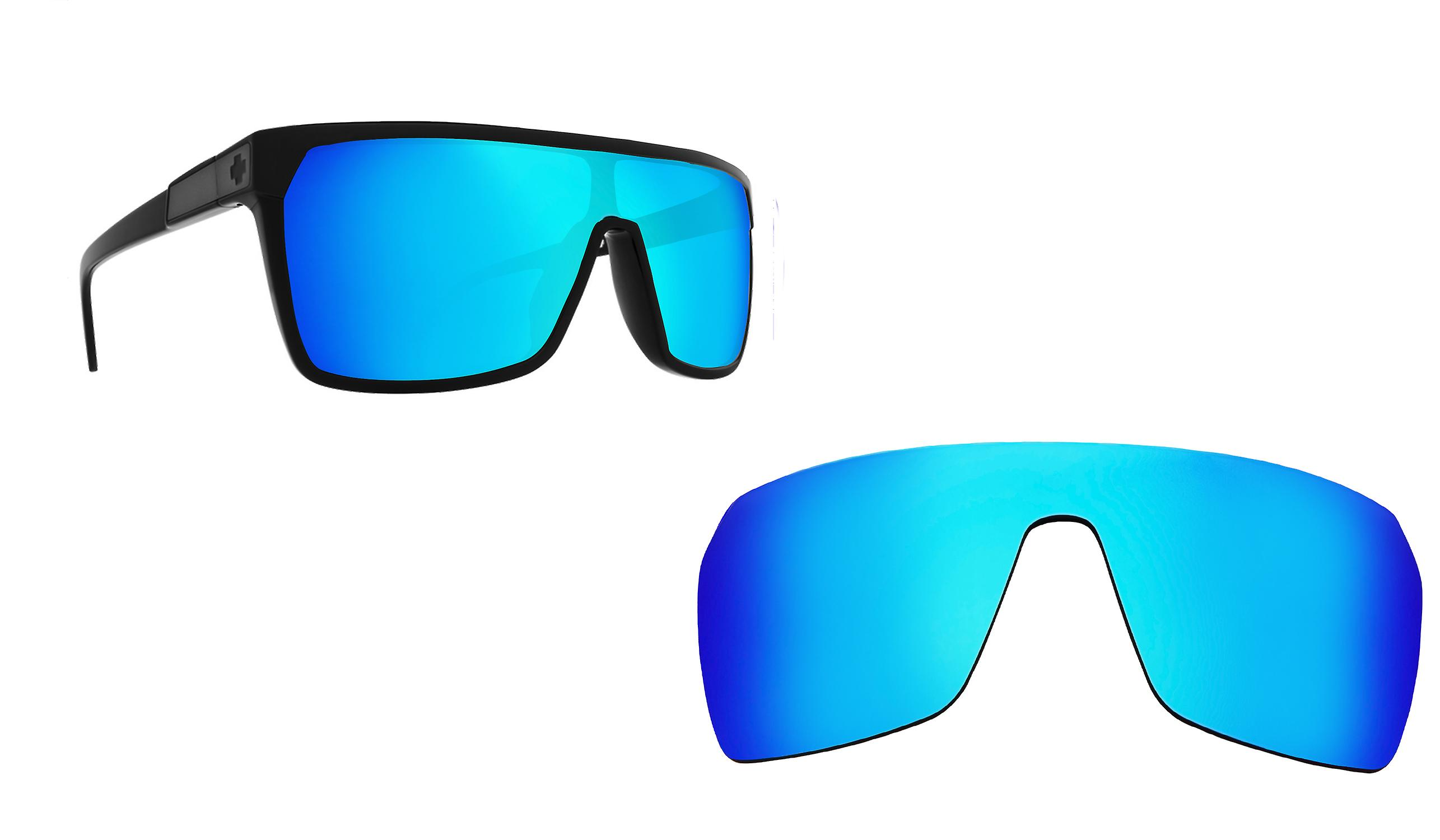 a481435fd9 Flynn Replacement Lenses Polarized Blue Mirror by SEEK fits SPY OPTICS