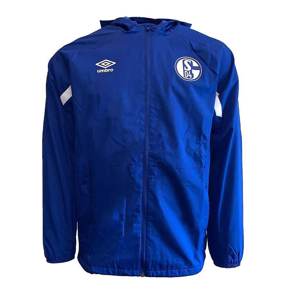 promo code 8ccc5 f6bd5 2019-2020 Schalke Umbro Shower Jacket (Blue)