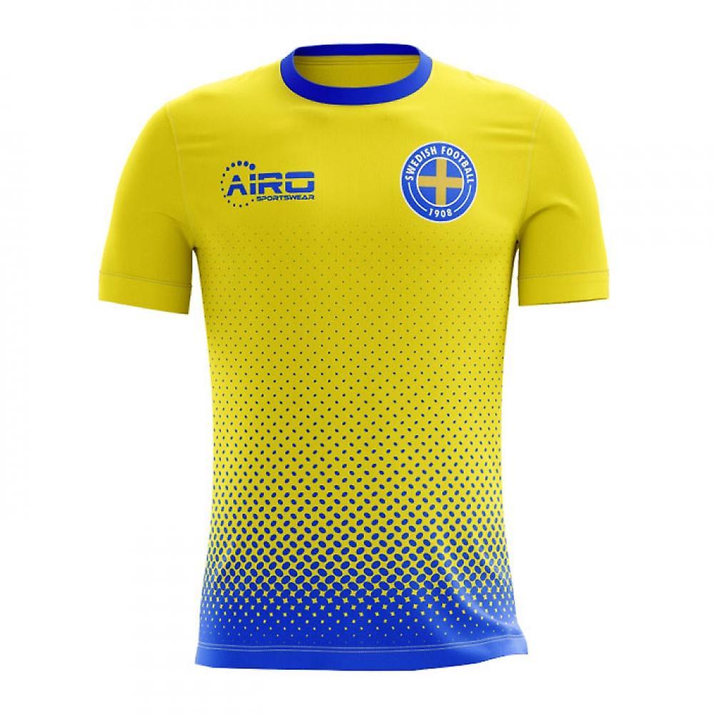 50f7cd911 2018-2019 Suecia concepto casa camiseta de fútbol