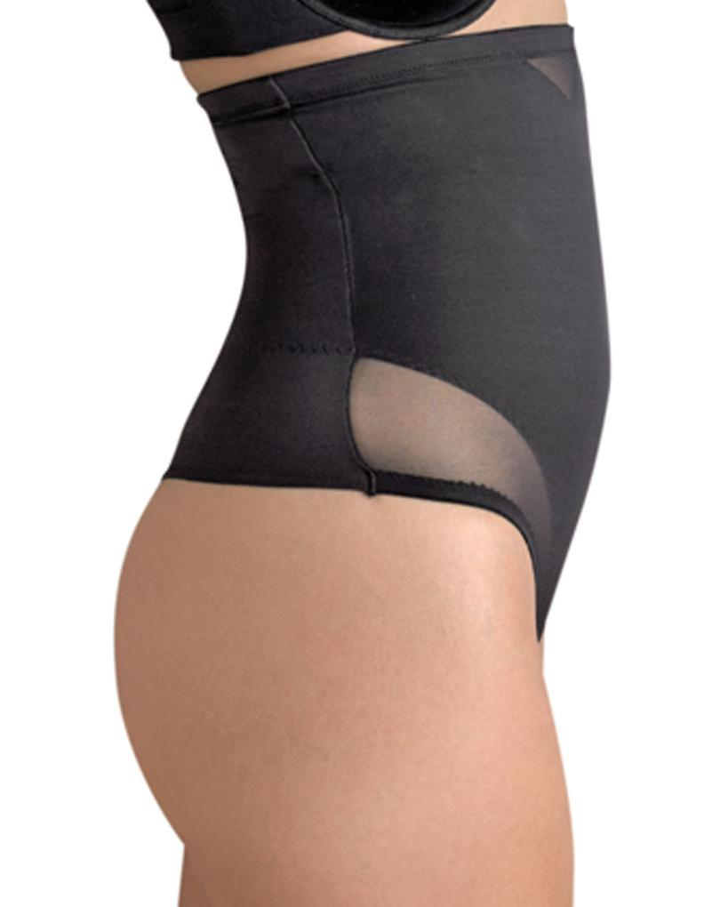 69b5e190e Miraclesuit Shapewear 2778 Women s Sexy Sheer Black Firm Medium Control High  Waist Thong