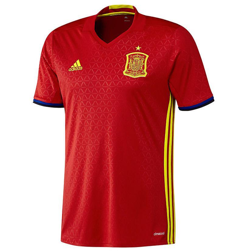 2016 2017 Spanien Home Adidas Fussball Trikot