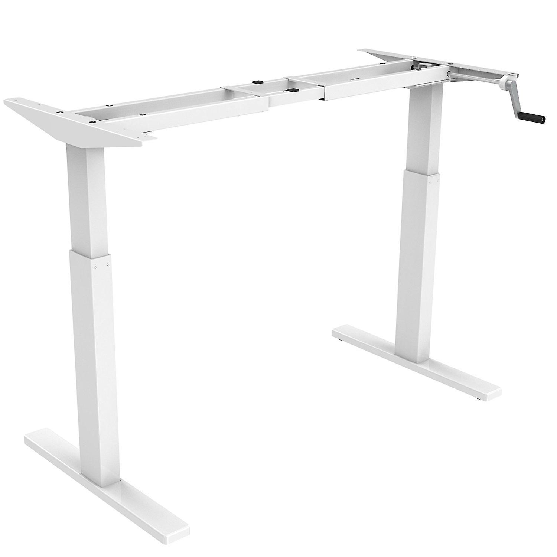 Flexispot 48 Crank Height Adjustable Office Workstation Frame Only