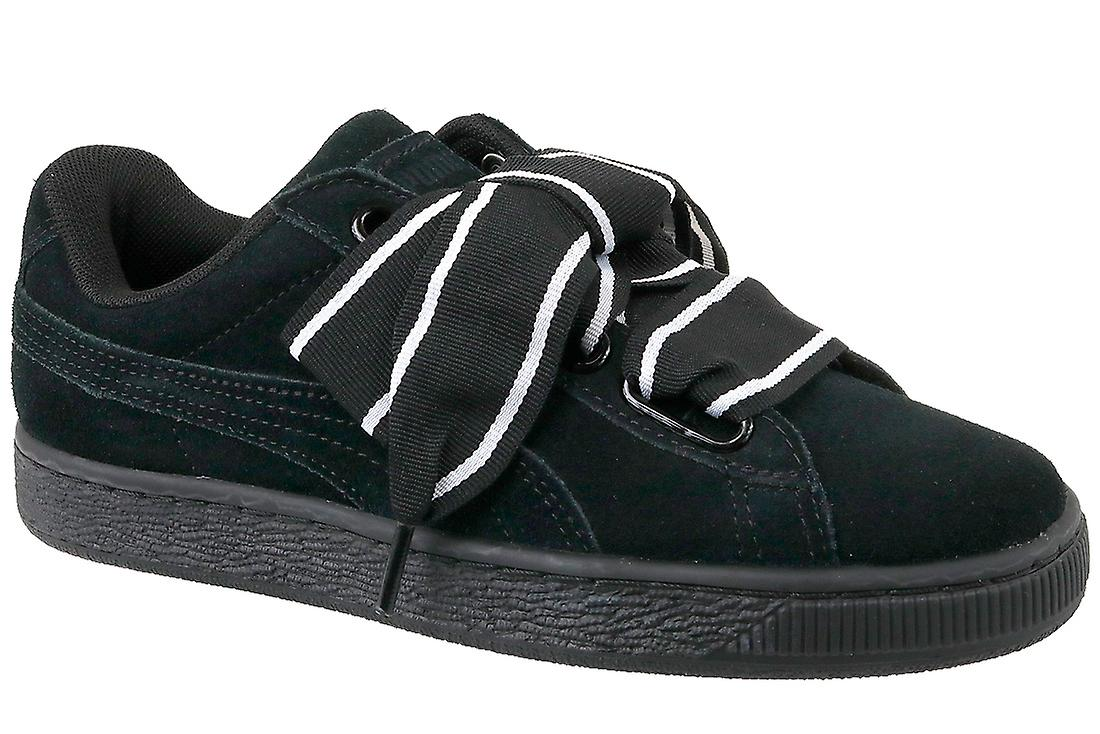premium selection 2e72d 3be0f Puma Suede Heart Satin II 364084-01 Womens sneakers