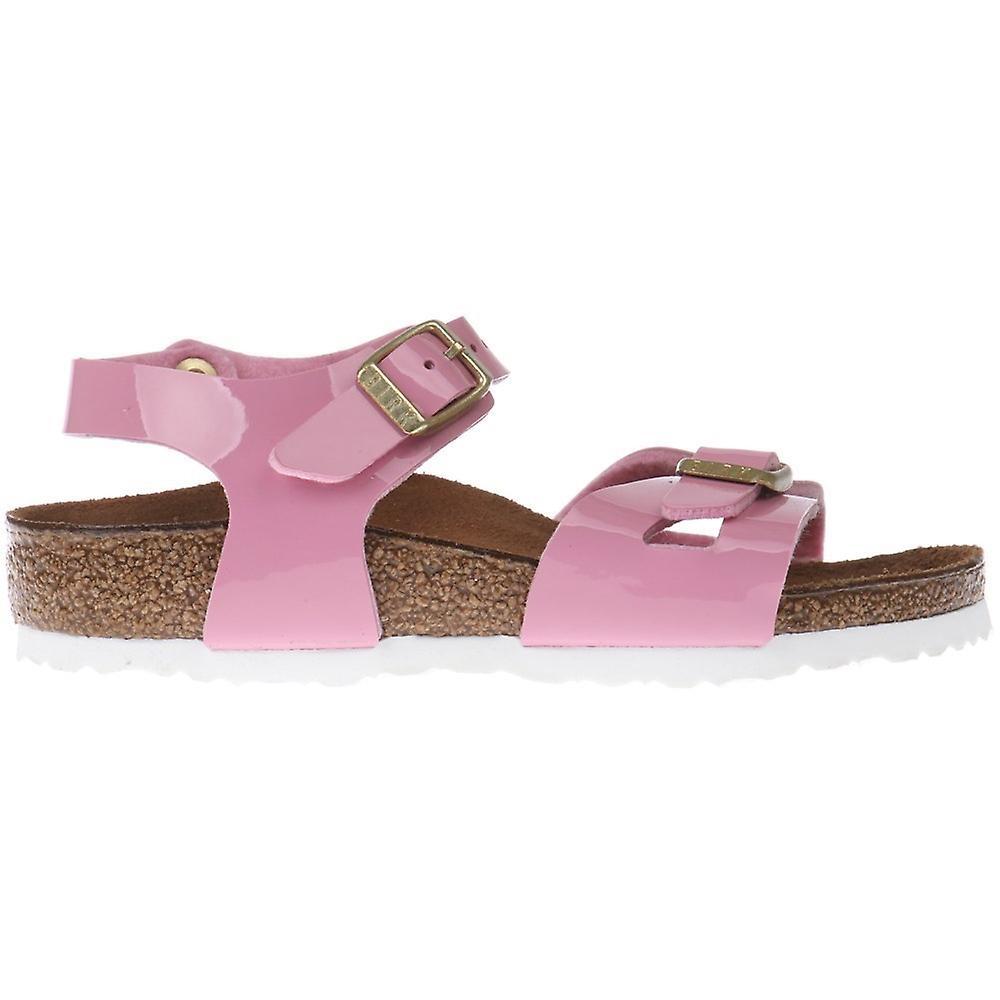 Birkenstock Rio Kids BF Patent Cashmere Rose 1005892 universal summer kids  shoes 765e672a396