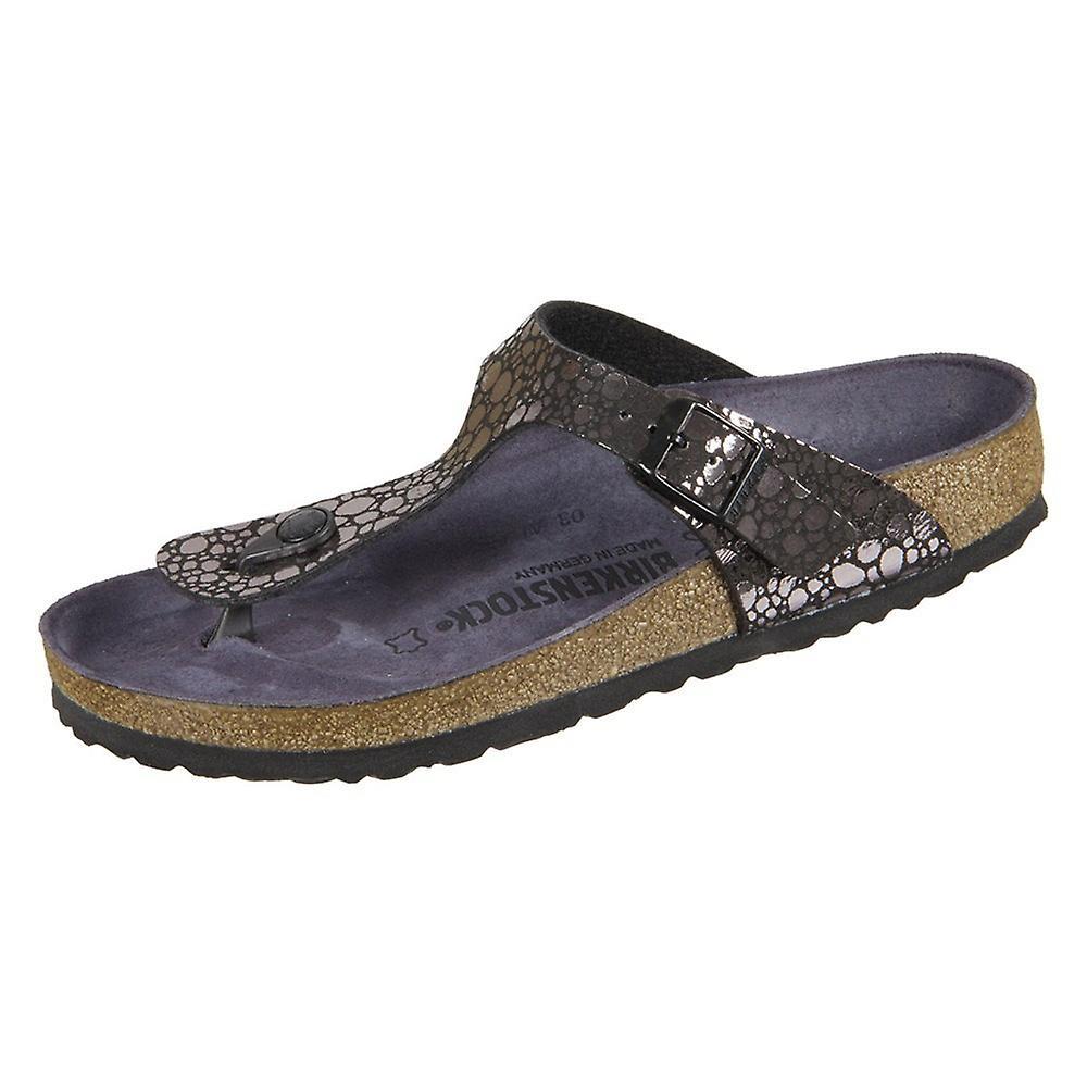 8afd38c36bd Birkenstock Gizeh Metallic Stones Black Birkoflor 1008865 universal women  shoes