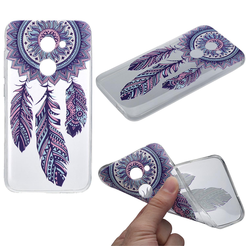 f96db8d5f21 Cubierta de la henna para atrapasueños Alcatel A5 LED funda protectora de  silicona