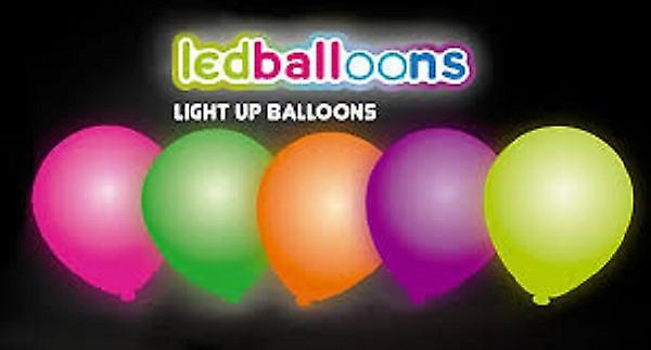 Ballonnen Met Licht : Ballonnen met led licht nr pak a st fruugo