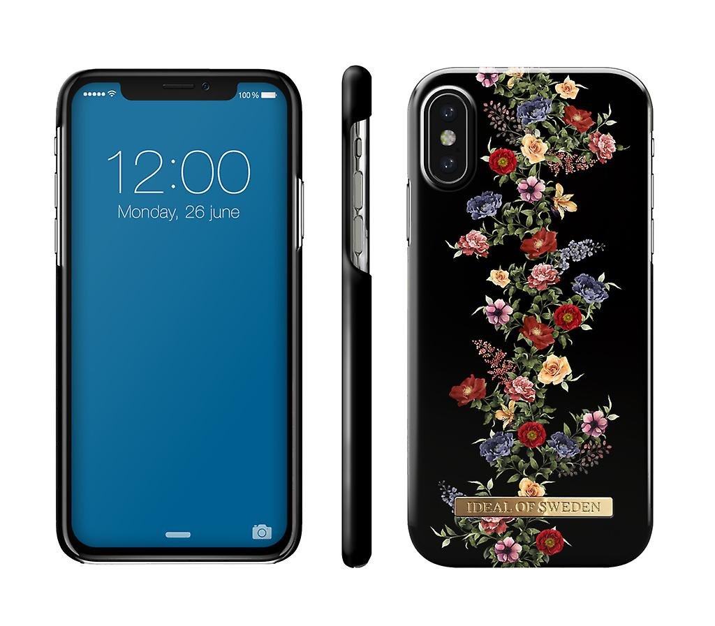 buy popular 90ae4 4a3fa ideals Of Sweden IPhone X/XS-Dark Floral