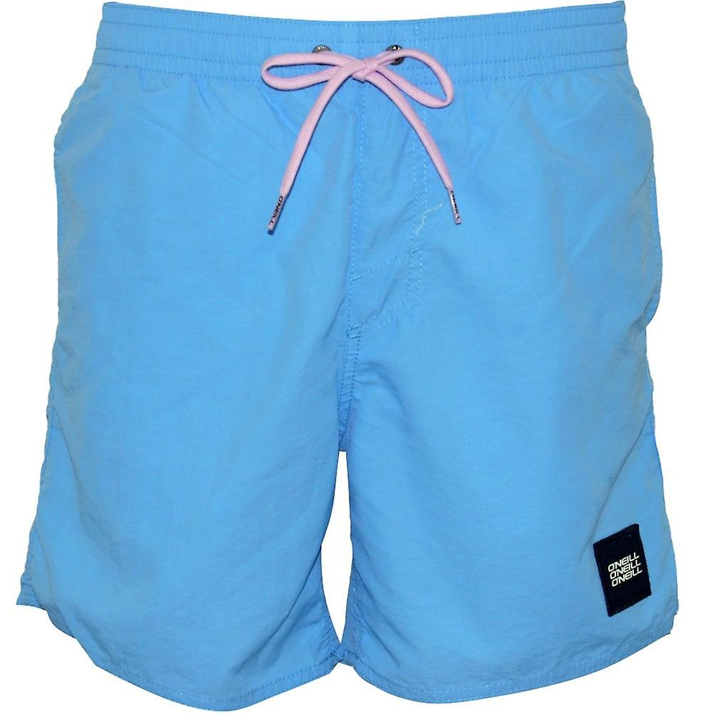 856485d119 O'Neill Vert Solid Colour Swim Shorts, Blue Heaven | Fruugo