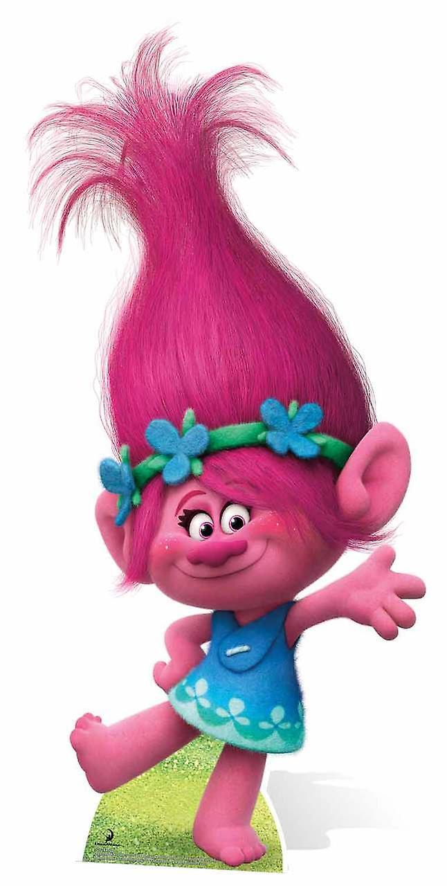 Trolls Zaino per Bambini con Motivo di Poppy di DreamWorks