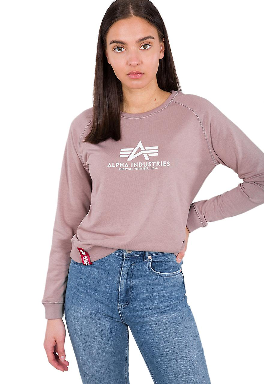 Alpha Industries Damen Pullover New Basic: : Bekleidung