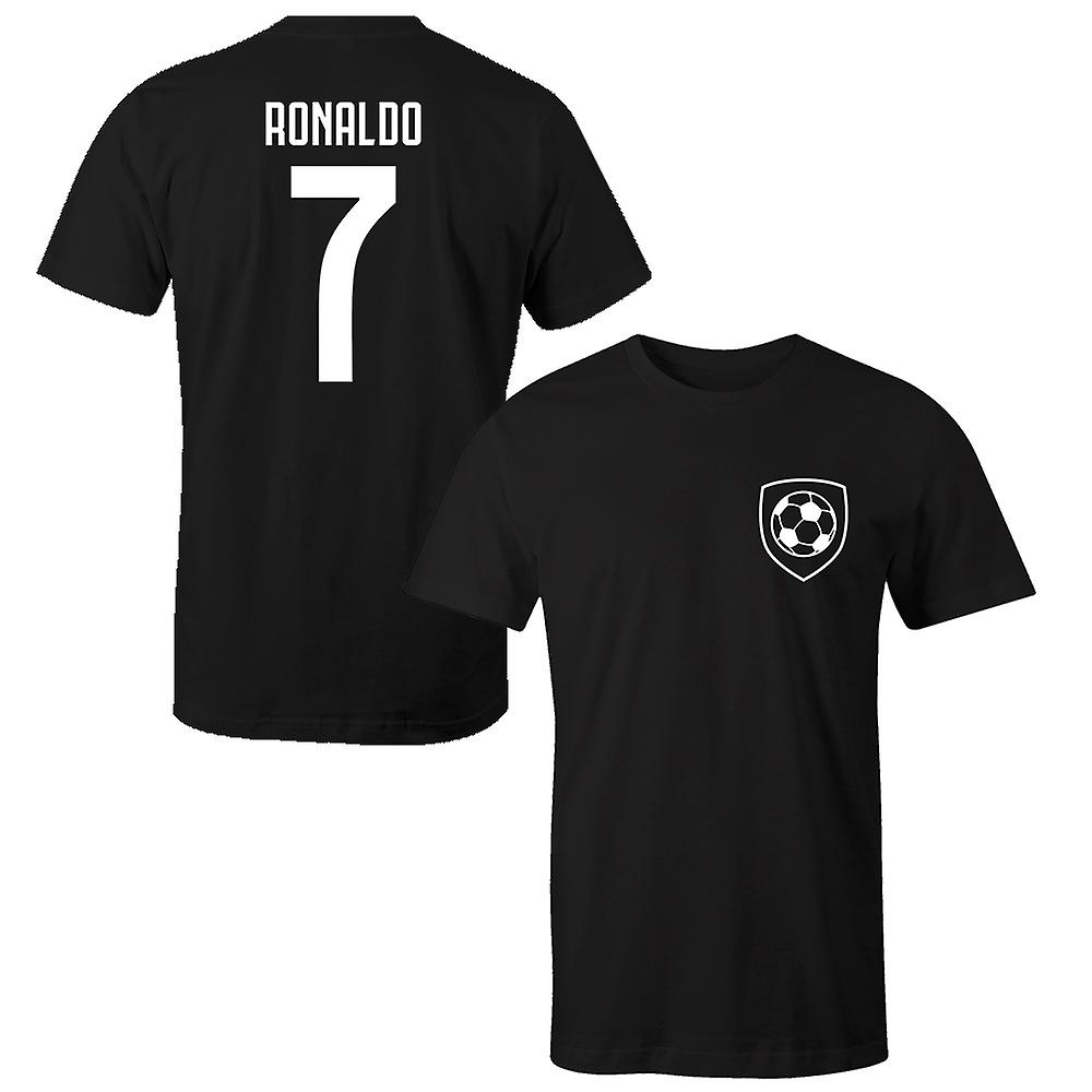 finest selection 5f523 faf9a Cristiano Ronaldo 7 Juventus Style Player T-Shirt