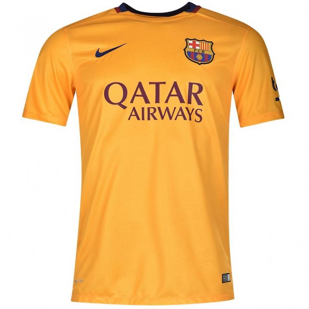 2015-2016 Barcelona Away Nike Shirt (Kids)  d36fafa42