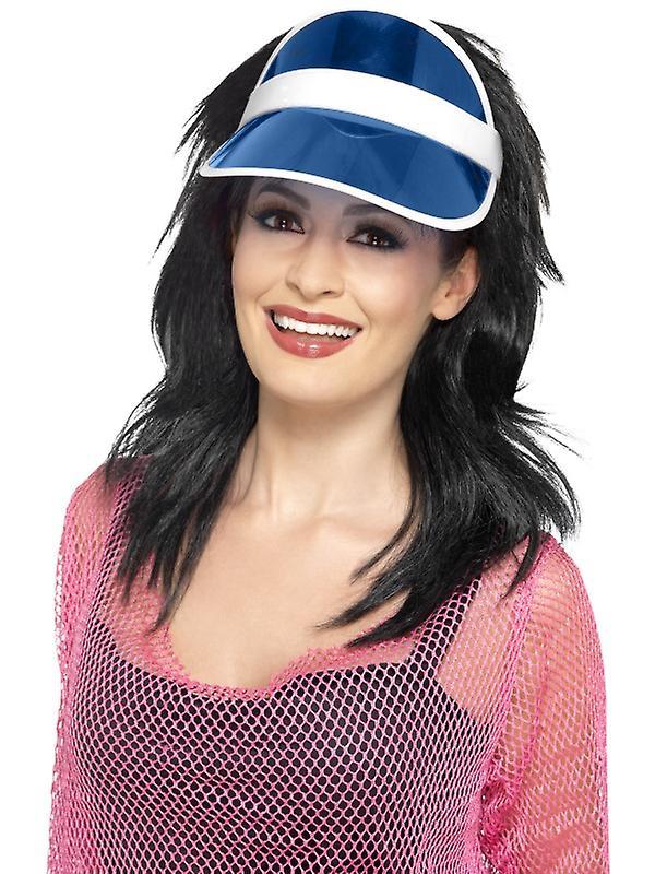 Poker visor blue Poker Hat Poker Hat Casino Hat  7fc7424313f1