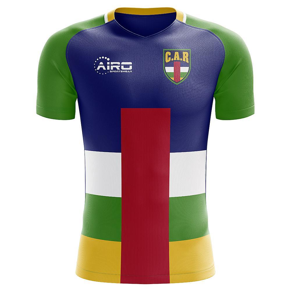 Camisa de futebol em casa conceito 2018 - 2019 República Centro-Africana 2adf63341dd45