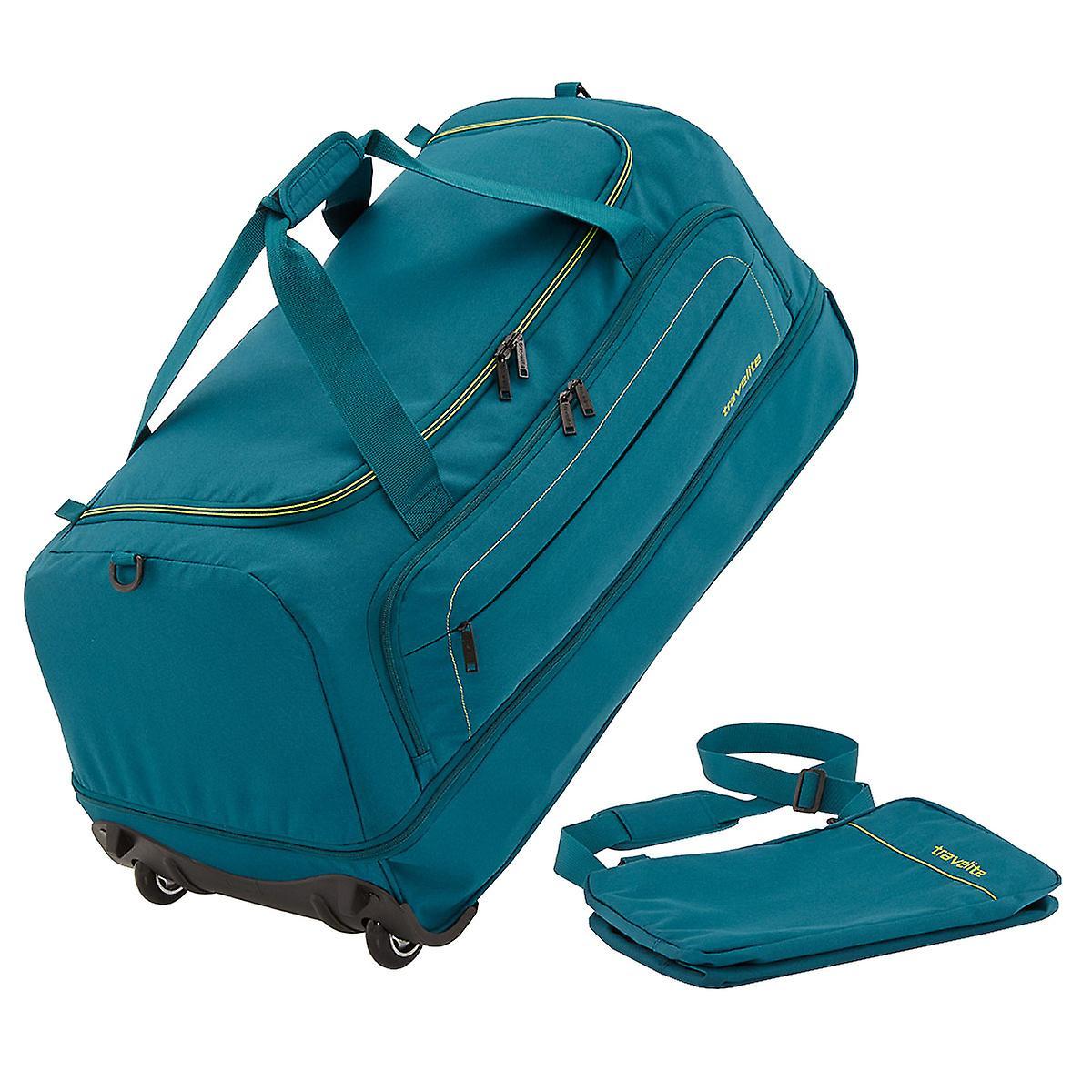 9165eabe6e Travelite basics folding rolling travel bag foldable bag Duffel trolley