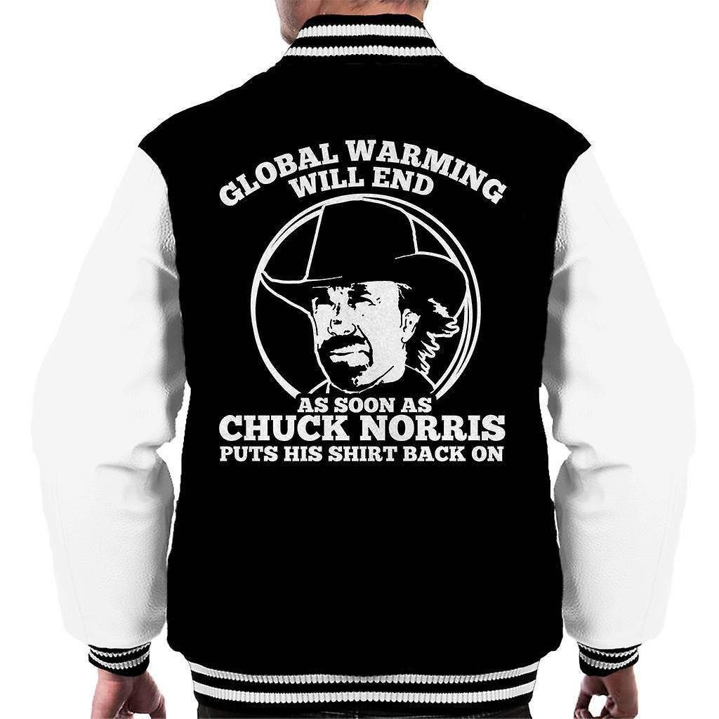 Zitieren Varsity Jacke Chuck Erderwärmung HerrenFruugo Norris WDIE2YH9