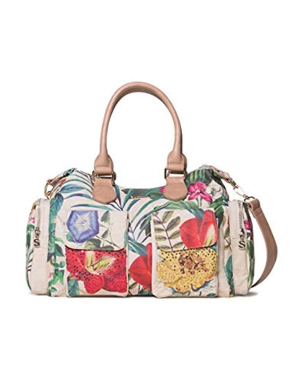 uusi käsite lähemmäs virallinen kauppa Desigual Bag Clio London Women - White Women's Shoulder Bags (Raw)  15.5x25.5x32 cm (B x H T)