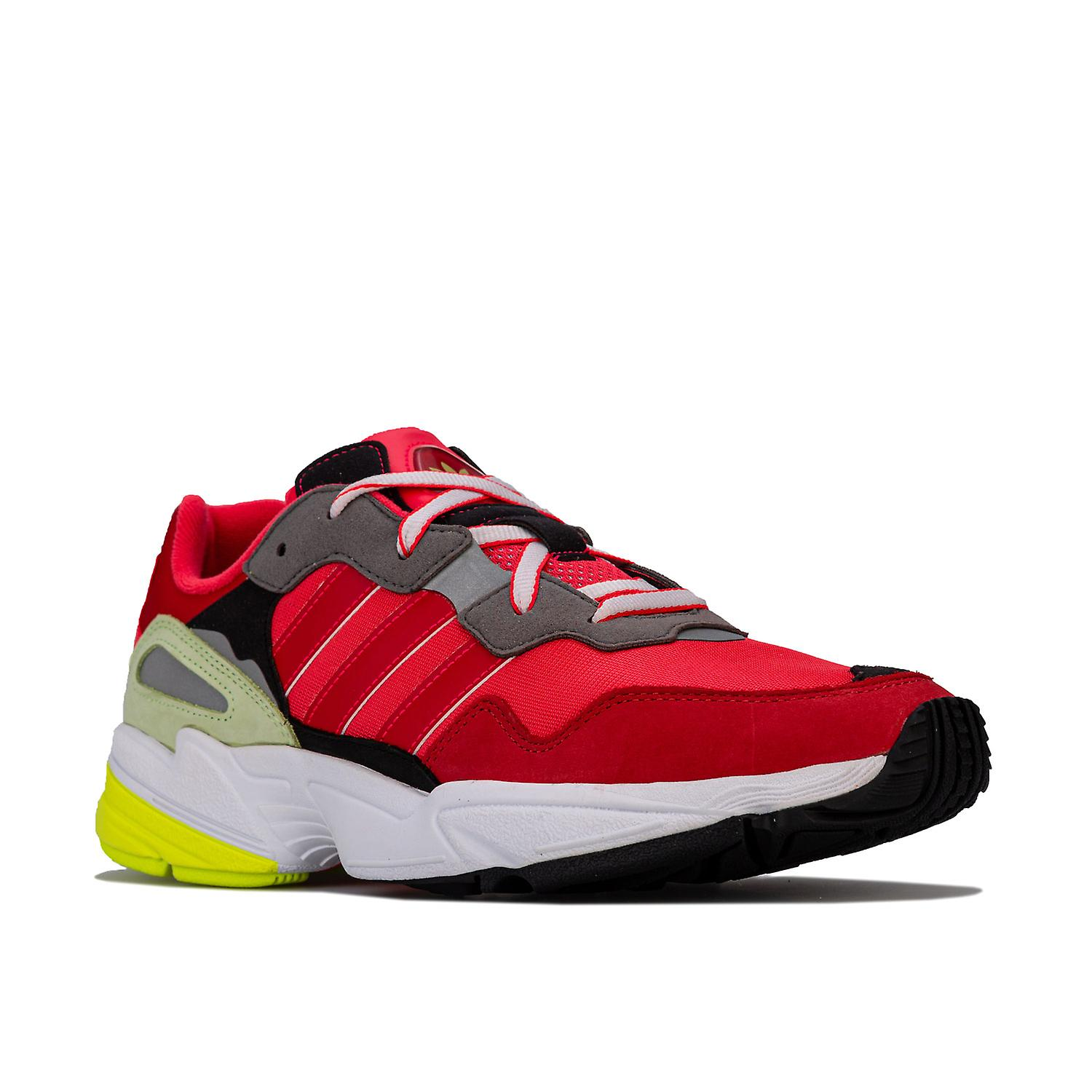 Adidas Originals Yung 96 kinesisk ny Yeartrainers i Collegiate Shock rød