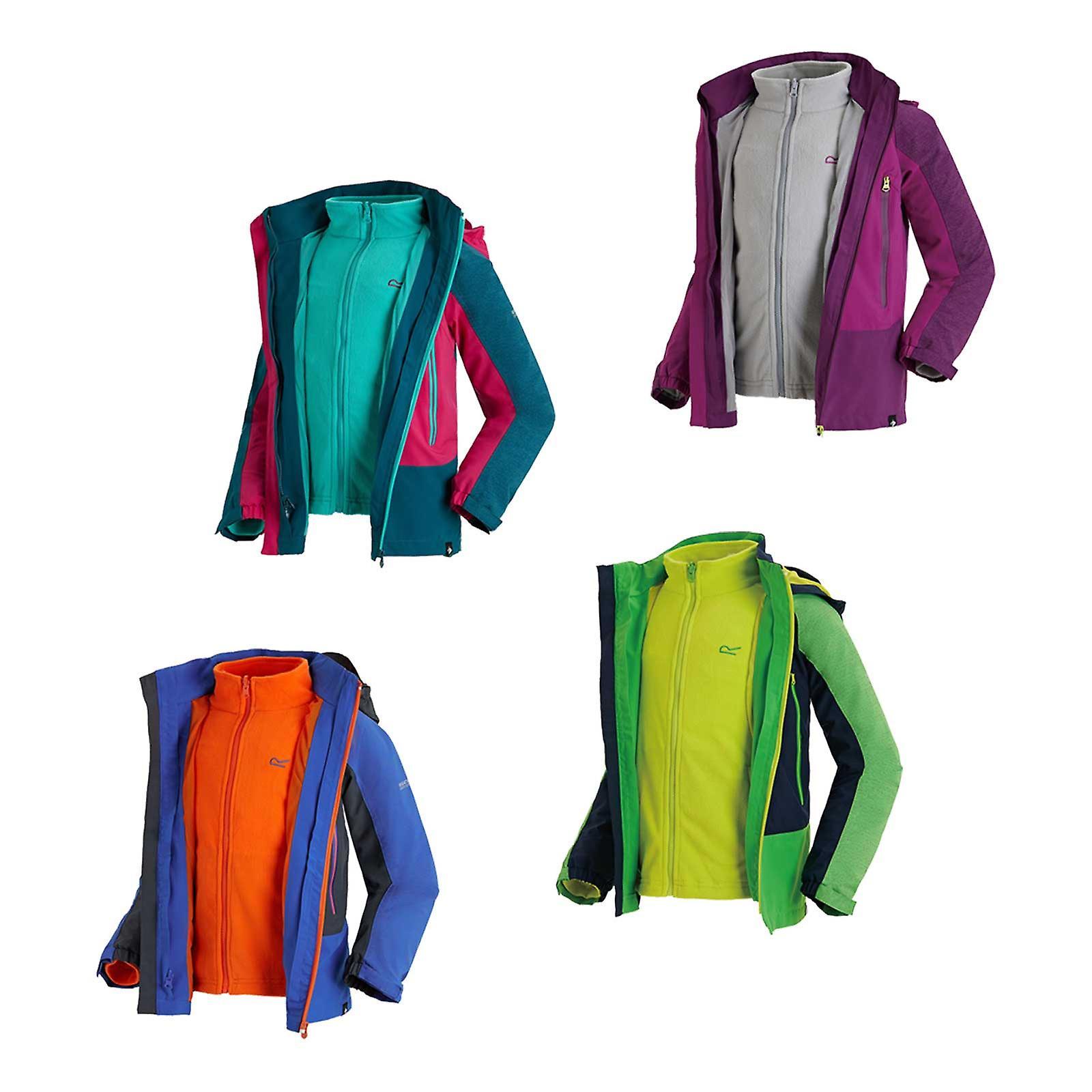 764695941b46 Regatta Kids Hydrate III 3 in 1 Waterproof Jacket