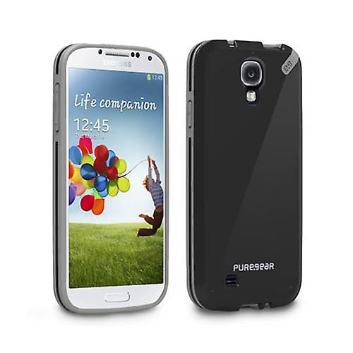 half off 468e8 e209a PureGear Slim Shell Case for Samsung Galaxy S4 (Black Tea)